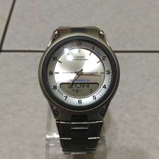 Casio 時尚 指針數字雙顯示 電子錶 g-shock