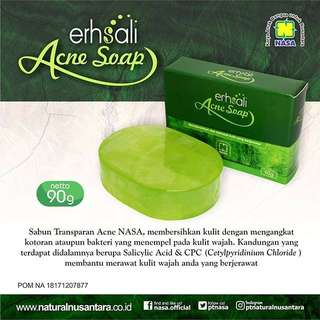 Erhasali acne soap