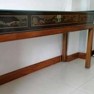 Authentic Chinese Long Display Table