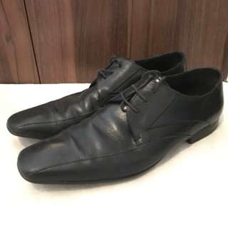 Charity Sale! Authentic Aldo Black Dress Formal Shoes Size 12US MEN pre-loved