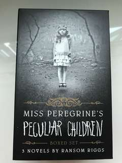 Miss Peregrine's Home For Peculiar Children (set of 3)