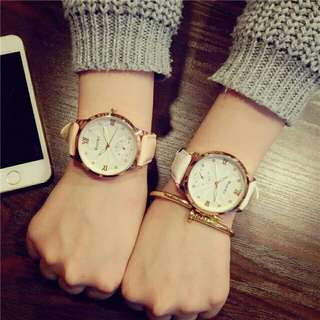 Couple Gift Watches For Women Mens Faux Leather Analog Quartz Watch Lovers Wrist Watch Men Clock Hours Relogio Montre #JO