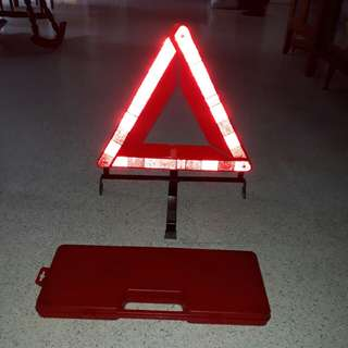 Foldable Breakdown Sign in compact box