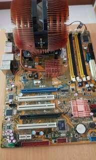Asus P5K motherboard & Intel C2Q9400 CPU