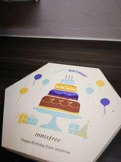 Brand New Innisfree Birthday Gift Set