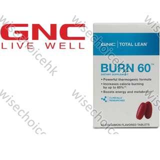 GNC Burn 60
