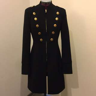 Forever New Military BLACK Coat