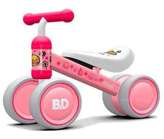 *Ready stocks* Kids Mini Bike / Bicycle / Walker / Tricycle (Left Pink Duckling only)