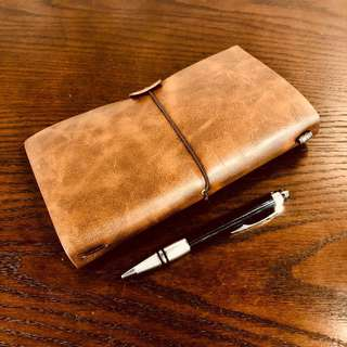 Leather Travel Journal (Traveler's Notebook)
