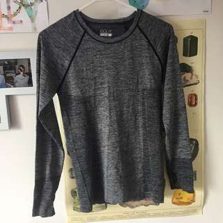 Grey Cotton On Body Sports Top