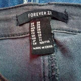 🌼Forever 21 gray skinny jeans