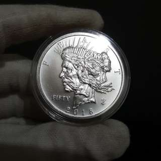Zombucks® Feast Dollar 1 oz Silver Round