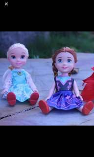 Instock Mini Frozen/Anna Toy Ht 17m Brand New Each $13.90 Take 2 For $24