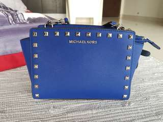 Authenic MK Selma Studded Bag