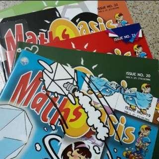 Magazines - > Maths Oasis