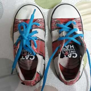 Converse kid's shoes CAT IN THE HAT