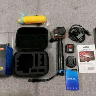 EKEN V8s Action Camera Set
