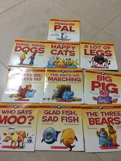 Phonics books 10 Books