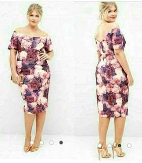 ON HAND :) Plus Size Bodycon Dress