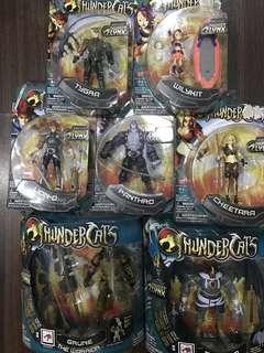 Thundercats figures (Set of 7)