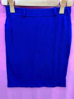 Royal blue kirt