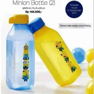 Eco bottle minion tupperware