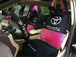 Car logo 18in1 popular limited edition design seat coverSpecial Note oversized pillow 100% Thick cotton cloth