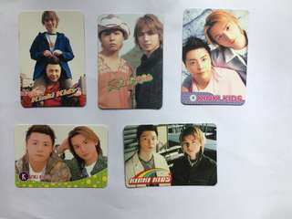Kinki Kids Yes Card