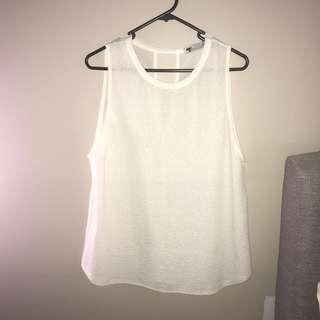 White basic sheet top