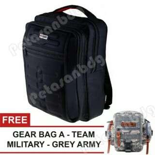 Gress emboss back pack Free tas