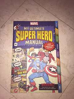 SUPER HERO MANUAL BOOK