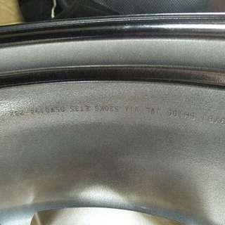 19吋鍛造鋼圈輪胎