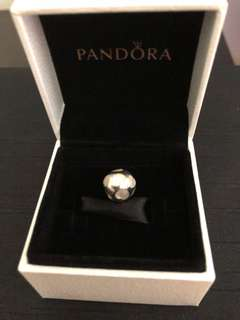 Pandora Heart Mother of Pearl Charm