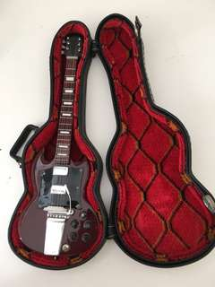 2 mini guitars - for decoration