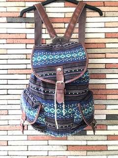 Colorful Native Hand Woven Bag