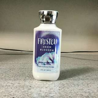 BBW Lotion - Frosted Snow Blossom