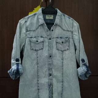 Sport Denim Unisex Shirt Long Sleeve By Brands Outlet
