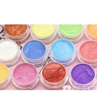 Metallic pigments fir slime powder arts and crafts related stuffs