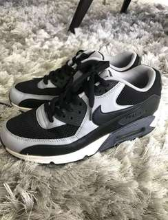 nike air max 90 black wolf grey anthracite white