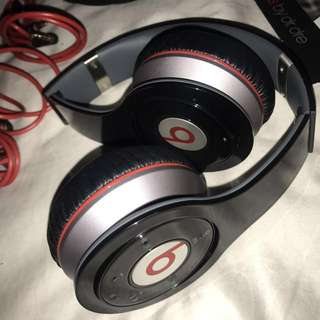 Beats Wireless Headphones (Black & Red)