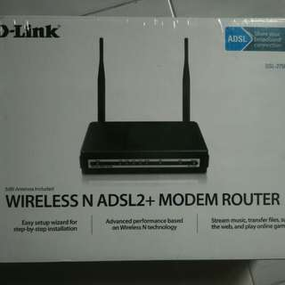 D-Link Router wireless N