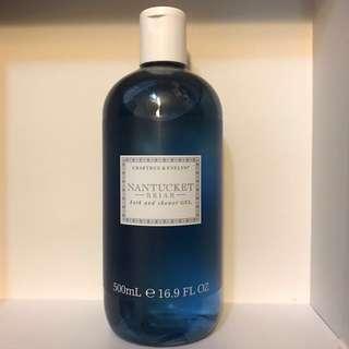Crabtree & Evelyn Nantucket Brian bath and shower gel 500ml