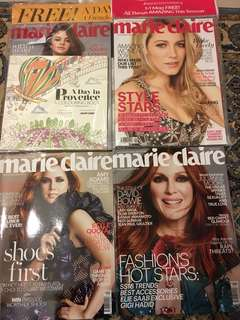 Marie Claire Magazine (fashion and women)