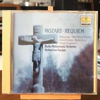 Mozart Requiem Karajan DG 429160-2