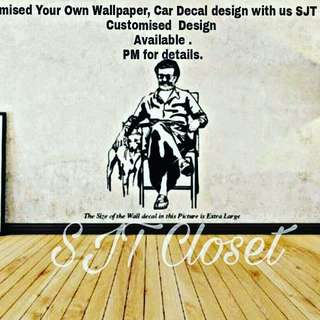 Wallpaper customize available