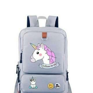 Funny Unicorn Dab Backpack Men Girl Srudent School Bags Travel Shoulder Bag Dabbing Rucksacks