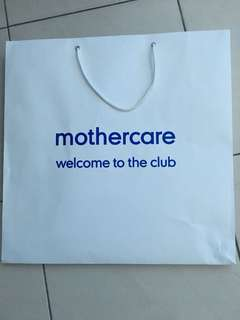 Mothercare Paper Bag
