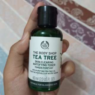 The Body Shop Tea Tree Skin Clearing Mattifying Toner 60 ml