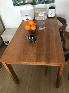 Stockroom Escaso Solid Oak Wood Dining Table 實木餐枱