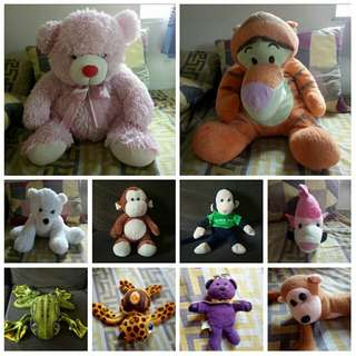 Stuffed Toys BUY ALL FOR 499php